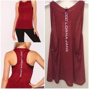 🚨SOLD NWT LORNA JANE Superfine Active Muscle Tank
